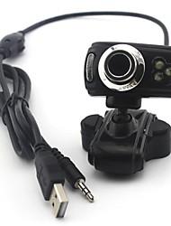 rvc03 legno fotocamera cavallo web con mircphone e controllo del volume 1.3mega pixel