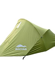 ROCVAN A059B 2 Person Double Layer Aluminum Pole Camping Tent