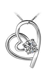 q-mooie elegante zilveren hanger