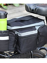 Cycling Shockproof Wearproof Black Bike Seat Bag Shelf Bag