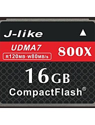 J-Like® CompactFlash Card  16GB Memory Card 800X