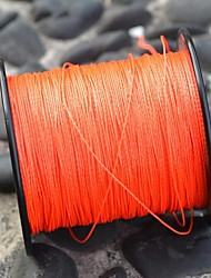 Abrasion Resistant Fishing Line 0.45mm  (200m long, 36.2kg, Orange)