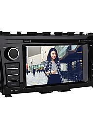 "Windows CE 7 ""2 DIN DVD-плеер для Nissan Teana 2013-2014 с Bluetooth, CANbus, GPS, Ipod"