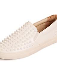pattini delle donne di conforto tacco piatto sneakers moda in pelle scarpe più colori disponibili