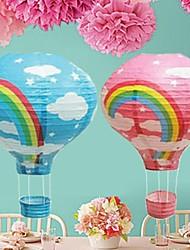 tipo balão suprimentos fogo lanternas chinesas do partido