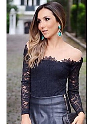 Women's Casual Long Sleeve Tops & Blouses (Lace)