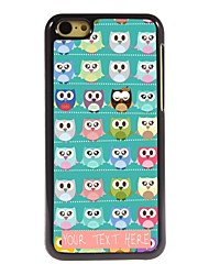 Personalized Phone Case - A Lot Of Owls Design Metal Case for iPhone 5C