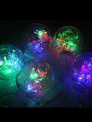 1m Christmas Plastic LED Flash String Light