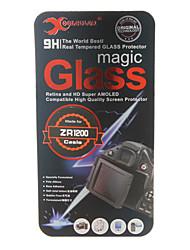vetro temperato protezione dello schermo della fotocamera per casio zr1200