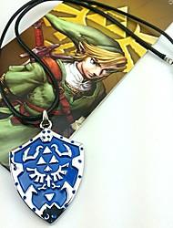 Bijoux Inspiré par The Legend of Zelda Cosplay Anime/Jeux Vidéo Accessoires de Cosplay Colliers Bleu Alliage Masculin