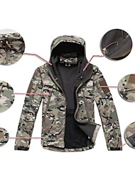 Digital ACU® Softshell Jacket Camouflage Shark Skin Soft Shell Waterproof Hunting Jacket