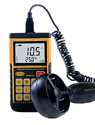 Professional Digital Anemometer Split-type Air Flow Meter ELECALL EM8902