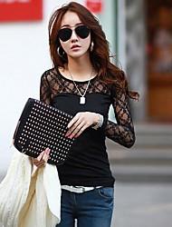 CoCo Zhang Model Cotton Lace Shirt
