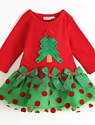 Christmas Tree Kid's Santa Dress