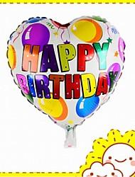 décoration de ballons de joyeux anniversaire (couleur aléatoire)