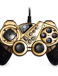 Jetion U5542 USB Dual Shock PC Controller Computer Game Controller