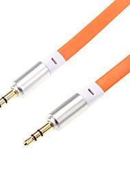 1m 3.5mm 3.28ft audio mâle câble audio 3,5 mm mâle pour téléphone mobile et la voiture aux