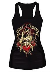 Gothic Broken Heart Tank Top Dress Night Club Sexy Uniform