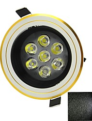 7w 630lm LED White Light лампа потолка (AC 85 ~ 265V)