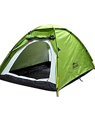 ROCVAN 3 Season A067 2 Person Double Layer Fiberglass Pole Camping Tent