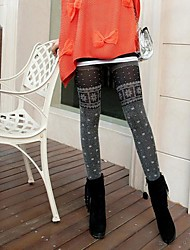 estiramento moda leggings de veludo das mulheres