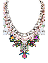 European Fashion style exagéré collier