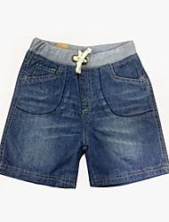 Jungen Mode Einfache Pure Color Cowboy Shorts