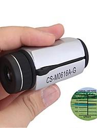6x 16 milímetros mini-alta definição de visão noturna monocular telescópio