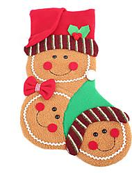 estéreo calcetines de Navidad cuelgan regalo decoraciones para el asimiento algo