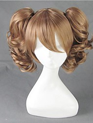 Luna Llena o sagashite mitsuki Kouyama marrón peluca cosplay