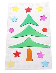christmas tree flocon porte / fenêtre / stickers muraux décorations