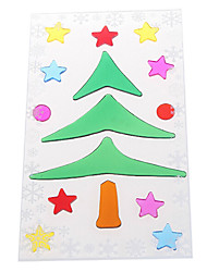 Christmas Tree Snowflake Door/Window/Wall Stickers Decorations