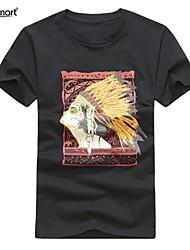 Lesmart® Men's Cotton Maya Printed Short Sleeve T-shirts