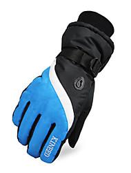 kineed mannen jas&wol winddicht volledige vinger ski handschoenen