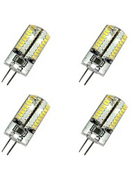 3W G4 LED Corn Lights T 64 SMD 3014 220-240 lm Warm White / Cool White AC 220-240 V 4 pcs