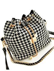 gemuni женская мода ломаную клетку сумка 378