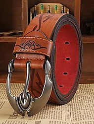 Men Waist Belt,Work / Casual Leather All Seasons