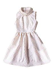 CoCo Zhang Frauen Cut Out Bead Bodycon elegantes Kleid