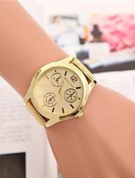 Mulheres Relógio de Moda Relógio de Pulso Quartzo Lega Banda Torre Eiffel Dourada