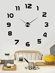 """39""""W DIY 3D Sticker Wall Clock"""