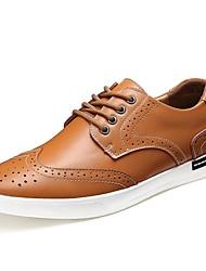 Scarpe da uomo Casual Di pelle Sneakers alla moda Nero/Marrone/Bianco