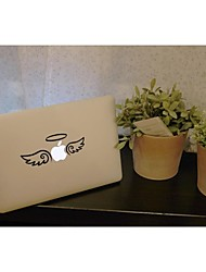 SKINAT Removable DIY funny cute angel with wing tablet and laptop sticker for you tablet and macbook air 135*205mm