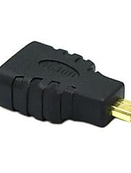 sensecheering 0.1m 0.328ft micro HDMI mâle vers HDMI connecteur HDMI v1.4 féminin