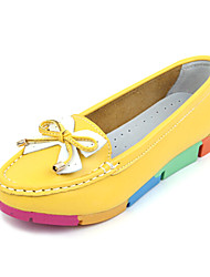 Women's Shoes Round Toe Low Heel Nylon Loafers Shoes More Colors available