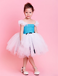 Kids' Dancewear Tutu Ballet Sweet Tulle Bowknot Décor Dance & Party Dress Kids Dance Costumes