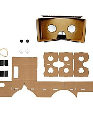 diy google Karton Virtual Reality 3D-Brille für iPhone 6 / samsung galaxy s5 / S4 / lg G3 / G2 / Google Nexus 5 / Nexus 4