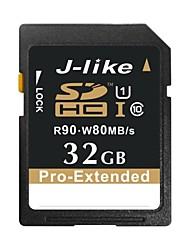j-like® SDHC Class10 pro-estesi UHS-I della scheda di memoria 32 GB 90 MB / s