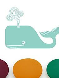 настенные наклейки наклейки на стены, мультфильм китов наклейки ПВХ стены.