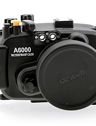 MEIKON S-A6 Waterproof Camera Case for Sony A6000 16-50mm Lens