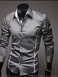 Zizi Men Leisure Fitted Shirt